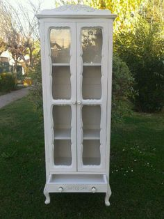 Comedor Shabby Chic, Furniture Makeover, China Cabinet, Vintage Furniture, My House, Sweet Home, Art Deco, Interior, Linens
