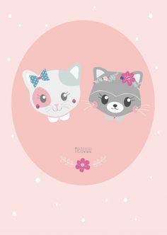 Petite Louise 'Kaart Meoww'