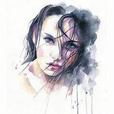 Watercolorist: @cora_tiana #waterblog #color #акварель #art #paint #aquarelle #watercolor #drawing #painting