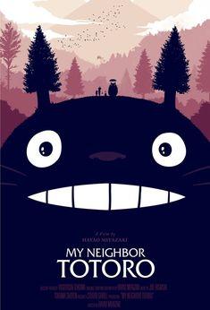 My Neighbour Totoro, Movie Poster