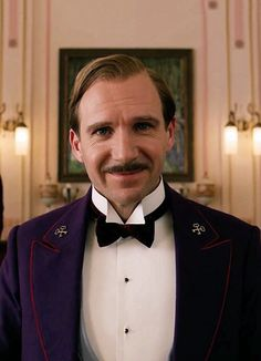 M. Gustave, The Grand Budapest Hotel. Ralph Fiennes...great role!!!