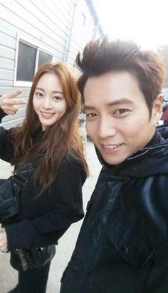 Han Ye-seul and Joo Sang-wook