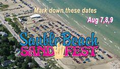 Sandfest Sauble Beach