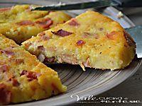 Schiacciata di patate e speck ricetta facile e veloce
