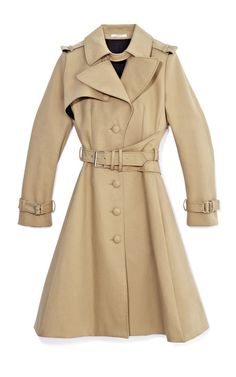 Trench Coat by Bouchra Jarrar Now Available on Moda Operandi