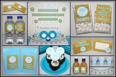 Blue & Gold Boys Twinkle Twinkle Little Star Party Decorations Supplies Ideas #Blue #Pink #Gold #Glitter #Silver #Little #Star #Glitter #Naming #Day #1st #Baby #Cute #Shower #Birthday #Bunting #Party #Decorations #Ideas #Banners #Cupcakes #WallDisplay #PopTop #JuiceLabels #PartyBags #Invites #KatieJDesignAndEvents #Personalised #Creative