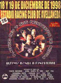 ESTADIO DEL RACING CLUB DE AVELLANEDA - VIERNES 18/12/1998