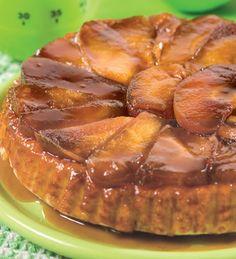 Tatin de manzana #receta #tortas #manzana