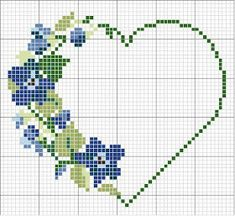 Letras e Artes da Lalá: Gráficos de ponto cruz: flores (fotos: google)
