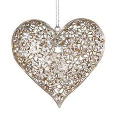 Silver Daisy Heart Decoration - Shabby Chic Vintage Style Sass & Belle http://www.amazon.co.uk/dp/B004UE53K4/ref=cm_sw_r_pi_dp_5nAQtb073NB8V7AZ