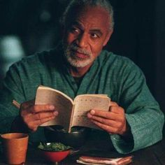 Ron Glass as Shepherd Book.  R.I.P