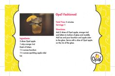 Opal-Fashioned #OpalApples #OldFashioned