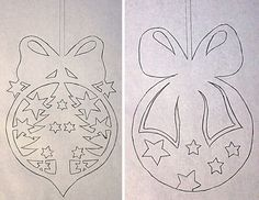 Шаблоны,Трафареты для украшения окон - Сайт happynewyear2013!