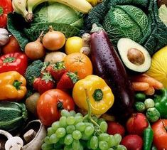 FRUITS and VEGETABLES are the source of all the nutrients and vitamins that a healthy body needs.