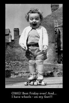 Wheels on my feet! #derby