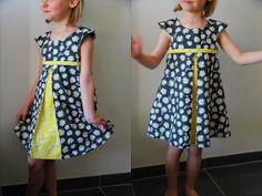 Crash-test de la robe Mademoiselle de Chut Charlotte. Je vous dis tout sur ce modèle sur mon blog. Blog LaisseLuciefer.