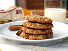 bite these goodies: Cinnamon oatmeal cookies | Owsiane ciasteczka cynamonowe