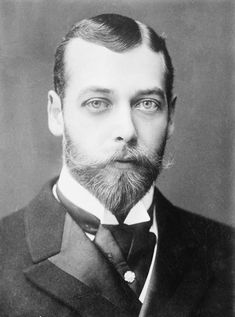 Victorian Bearded Man King George V of England by EclecticForest, $10.00
