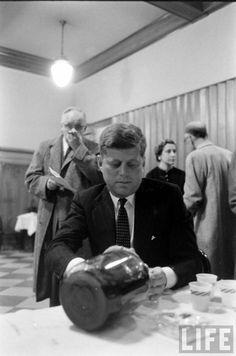 Senator Kennedy Photographer: Robert W Kelley