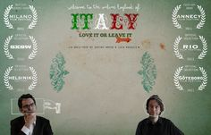 www.italyloveitorleave.it The younger generation of Italians are graduating from university and leaving even as people worldwide dream of living out their lives in Italy. 2 young Italians take a road trip to find out why.
