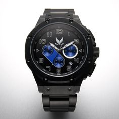 The timepiece of the elite. The Special Tactics and Reconnaissance watch is for those willing to preserve galactic stability by whatever means necessary. Limited Edition of 500 Spectre Ambassador Watches, individual number etched on the back case, encased in a custom-designed box with silver foil detail, and includes a Certificate of Authenticity.