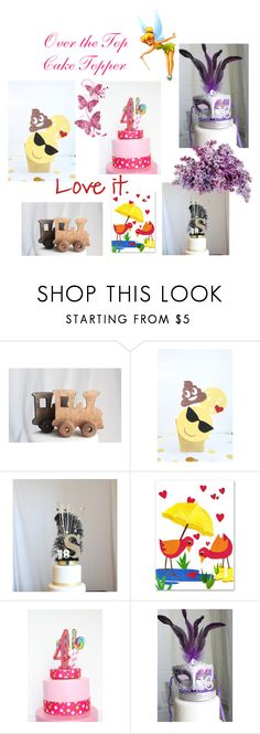"""""""Over The Top Cake Topper"""" by afloralaffair-1 ❤ liked on Polyvore featuring interior, interiors, interior design, home, home decor, interior decorating, Humör, Disney and Masquerade"""