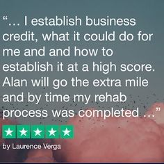 ALANHAYONCEO — Google Local Good Credit Score, Go The Extra Mile, Scores, Google