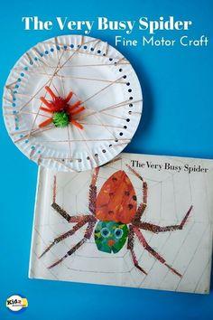 The Very Busy Spider Craft - Kidz Activities
