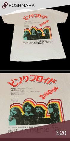 Pink Floyd in Japan T shirt Brand new, without tags.Design on front only. 100% cotton Made in Haiti public opinion Shirts Tees - Short Sleeve