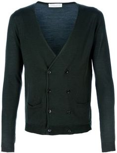 Roberto Collina double breasted cardigan