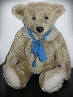 HEMDKRAGEN für antike Puppen und Bären, shabby, antique & vintage style