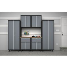 NewAge Products H x W x D Metal Multipurpose Cabinet Set