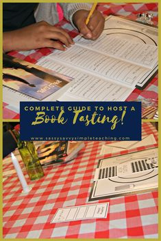 Everything you need to know to host a fabulous Book Tasting! Step by step directions, tips and a FREEBIE!