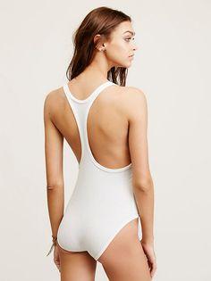 Zhenya Katava || FP Intimately Hooked On You Bodysuit (Ivory)