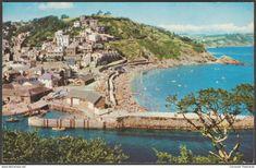 Looe, Cornwall, 1966 - Jarrold Postcard