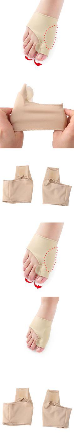 1Pair Bunion Socks Pain Relieve Hallux Valgus Device Foot Thumb Big Toe Separator Socks For Pedicure Orthopedic Correction Socks