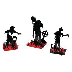 Zombie Table Decorations OrientalTrading.com