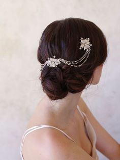 Twigs and Honey Triple Flower Hair Adornment – OnceWed.com