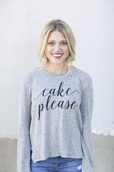 Cake Please Sweater-