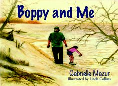"""Cover of my picture book """"Boppy and Me"""", an endearing story of a young child and her grandfather."""