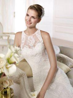 OLEVA Lace Wedding, Wedding Dresses, Classy, Elegant, Fashion, Moda, Bridal Dresses, Chic, Alon Livne Wedding Dresses