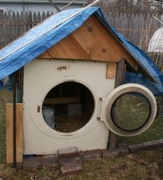 recycled chicken coop   wow imagine possibilities