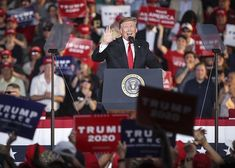 President Donald Trump speaks during a recent rally in Pennsylvania. Trump's reelection campaign comes armed with resources it could only dream of in Cnn Anchors, Republican National Committee, Swing State, Campaign Manager, Former President, Republican Party, Joe Biden, Barack Obama, Rally