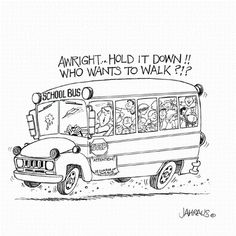 Download This Printable for School Bus Safety Week