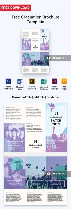 Microsoft Brochure Templates Free Download Delectable Free Automotive Brochure  Pinterest  Brochure Template Brochures .