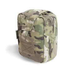 a62d0886457 Warrior s Medic Rip Off Pouch holds a wide variety of Med Kit. Compartments  and Tabs organize kit in order of use.