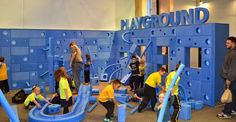 Unlock your creative potential in PTM's new ‪#‎ImaginationPlayground‬. Kids and families work together to make larger-than-life structures with plenty of room for fun!