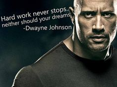 """I have this passion where I break down inspirational quotes by inspirational people and this time, it's none other than Dwayne Johnson, known as """"The Rock"""" The Rock Dwayne Johnson, Dwayne Johnson Quotes, Dwayne The Rock, Rock Johnson, Dwayne Johnson Zitate, Monday Motivation, Fitness Motivation, Fitness Tips, Fitness Quotes"""