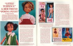 Part one of article in 'Doll Digest' Magazine from July 1997
