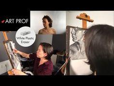 Charcoal Drawing, Visual Arts, Art Techniques, Art Tutorials, Professor, Boston, Contrast, Wordpress, Platform